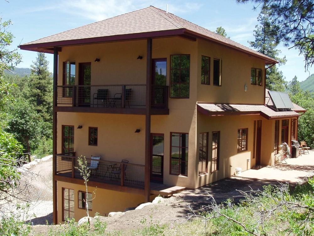 Solar home building plans durango solar homes for Solar home plans