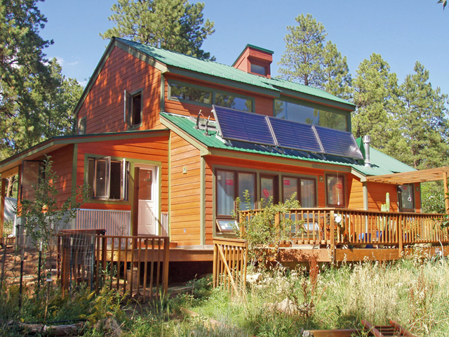 free home plans active solar house plans
