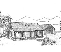 Small House Plans besides Detached Garage Electrical Plans moreover Our Tiny House furthermore Floor Plan For Affordable 1100 Sf House With 3 Bedrooms And 2 Baths moreover 1940 Sears Home Plans. on bungalow house kits